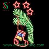 Christmas Gift Motif Light Street Pole Decor Light