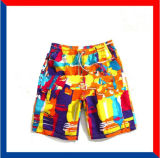 Wholesale Newstyle Hotsales Customized Micro Fibre Twill Beach Shorts
