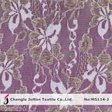 Metallic Lace Indian Lace Fabrics (M5114-J)