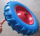 Zig Pattern High Quality PU Wheel for Wheel Barow
