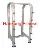 Gym Equipment, Fitness, Body Building, Hammer Strength, Horizontal Barbell Rack (HP-3059)