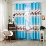 Countryside Style Print Curtain Fashion Curtain (KS-144)
