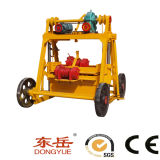 Small Moving Brick Making Machine (QT40-3B)