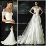Lace off-Shoulder Court Train Ball Gowns Bridal Wedding Dresses Z5059
