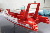 Rib470W Fishing Boat 15.4FT Inflatable Boat Sport Boat with Fish Well Cabin