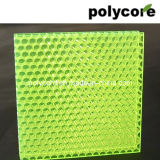 Decorative Polycarbonate Honeycomb Sandwich Panel