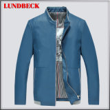 Best Sell PU Jacket for Men Leisure Winter Coat