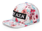 Fashion Flower Design Sport Truck Flat Snapback Cap