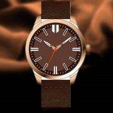 Simple Fashion Stainless Steel Case Couple Nato D Style Quartz Wrist Watch