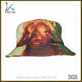 2017 New Design Animal Printing Cotton Bucket Hat for Children