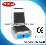 Electric Contact Grill for Sandwich and Panini
