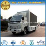 Forland 6 Wheels Advertising Truck 100 HP LED Screen Display Vehicle