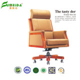 Office Furniture Wooden Chair Office Swivel Leather Chair
