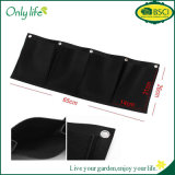 Onlylife Breathable Light 4 Planting Bags Vertical Gardening Hanging Wall