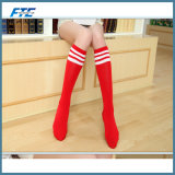 Hot Sale Campus Custom Cotton Kness Sock