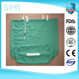 Green Bag with Draw String Wearable Laundry Polyester Bag