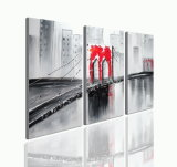 Handade Modern Abstract Oil Painting