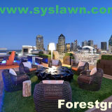 CS Playhouses Parks Artificial Lawn Leading Artificial Grass Manufacturer China