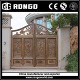 Aluminium Rongo Good Villa Swing Gate/Automatic Opening System Gate