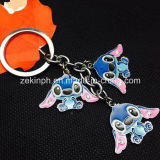 Factory-Direct Customized Cute Animal Keyrings