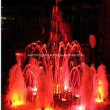 Stainless Steel Fountain Colorful Fountain Music Dancing Fountain