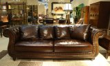 Top Quality Brown Color Vintage Chesterfield Sofa Sets