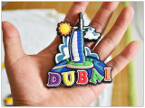 3D Soft PVC Rubber Fridge Magnet in Souvenirs