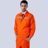 Wholesale Orang Color Reflective Long Sleeve Work Jacket