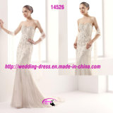 Passion Beading Sweetheart Mermaid Bridal Dress with Court Train