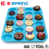 24 Pieces Silicone DIY Cupcake Baking Tray Mini Cake Mold