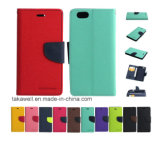 Mobile Phone Accessory Luxury Leather Case Mercury for iPhone 5 6 Cell Phone Cover Case