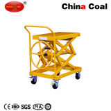 Walk Behind Hand Screw Type Lift Table Trolley