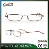 Latest Popular Fashion Design Metal Reading Glasses with Case V4028