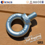 M10 Carbon Steel Galvanized Eye Bolt and Nut Hardware