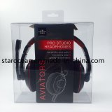 Plastic Gift Box PVC Packaging for Headphone with Paper Box