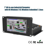 """7"""" Panel PC All-in-One Industrial Computer with Windows 7/8 System"""