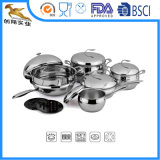18/10 High Quality Stainless Steel Cookware Set (AQS-1624)