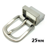 High Quality Metal Zinc Alloy Reversible Buckle Pin Belt Buckle for Dress Belts Garment Shoes Handbags (XWS-ZD282)