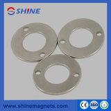 Professional NdFeB Magnetization Ring Magnet (Coating Ni)