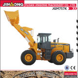 5 Ton Wheel Loader with High Lifting Arm Jgm757K Earth Moving Equipment Loader