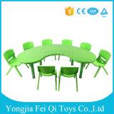 Preschool Indoor Kids Educational Equipment Plastic Chairs and Desks