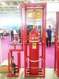 Factory Direct Sale Pipe Network 70L-120L Electromaganetic FM200 Fire Extinguisher System