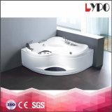 K-8822 Massage Bathtub Price, Double Whirlpool Bathtubs, China Bathtub with Arm and Head Rest