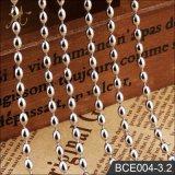 Fashion High Quality 3.2mm Rice Ball Chain on Spool Wholesale