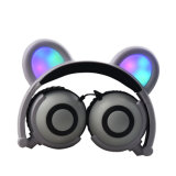 Cute LED Light Anime Panda Wired Headphone 2018 Trending Products