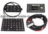 Button-Pros 8 Button Flush 8100 Bluetooth Panel Power System for Jeep Rzr UTV