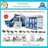 Full Automatic Qt6-15 Hydraulic Cement Hollow Brick Making Machine