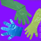Plastic/Polyethylene/Poly/Vinyl/CPE/HDPE/LDPE Disposable PE Gloves, Disposable PVC Gloves