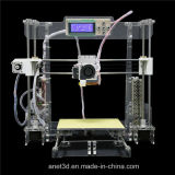 2016 Anet Newest Version Fdm Rapid Prototype Desktop DIY 3D Printer