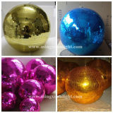 Colorful Disco Mirror Ball Disco Effect Light